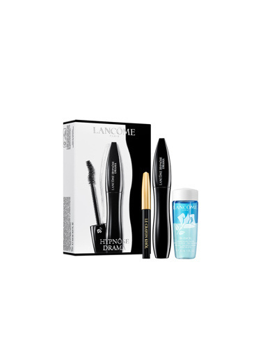 Lancome Lancome Hypnose Drama Mascara+ Crayon Khol Black+ Bi-Facil Eye Makeup Cleanser 30 Ml Set Renkli